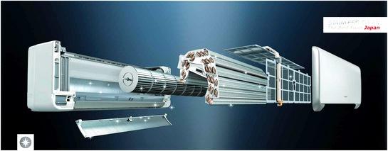 Инверторные кондиционеры Hitachi Premium XH внутренний блок  RAS-10XH1